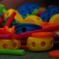 "Photo of plastic Tinkertoys entitled ""Tinker Toys"" by Steve Webel"