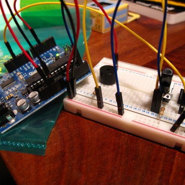 An Arduino-powered instrument