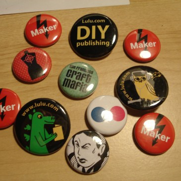 Guest Blog Post: Buttonmakers As Pop-Up Making