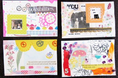Daily Making: Index Card a Day