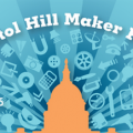 Logo for Capitol Hill Maker Faire, courtesy of IMLS