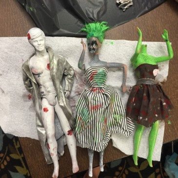 Zombie Barbies