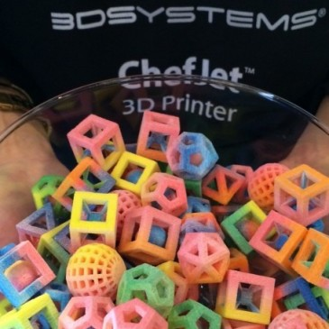 Not Just Plastic Anymore: 3D Printing and Food