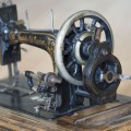 Decorative photo of antique sewing machine