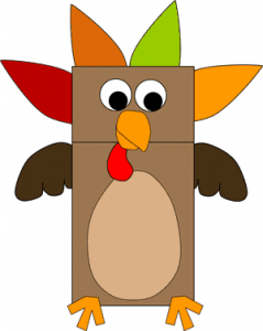 turkey puppet graphic